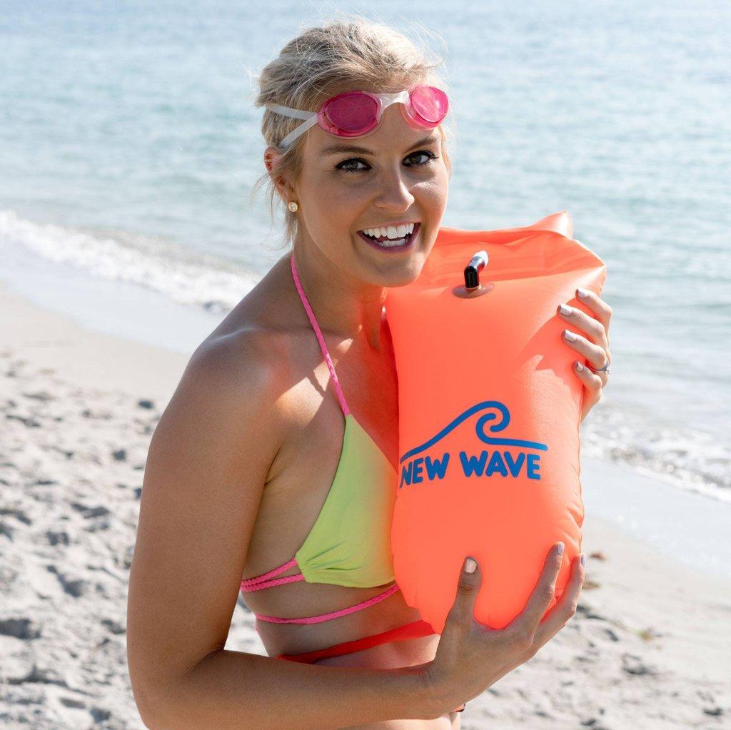 1a6dda7b01c New Wave Open Water Swim Buoy – Medium (15 liter) – Southeast Storm ...